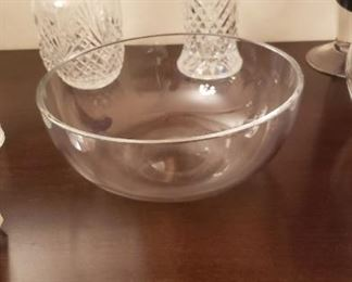 Signed Baccarat Bowl