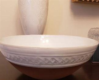 Glazed Pottery Bowl