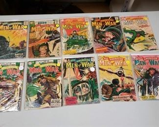 Sell Buy Comic Books Our Army at War