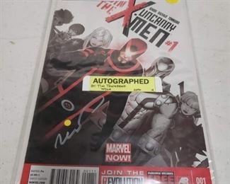 Sell Buy Comic Books Signed Comics