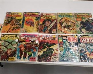 Sell Buy Comic Books War Comics