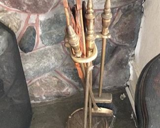 Fireplace tools $80