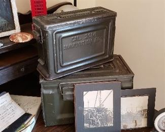 Vintage Ammo Boxes