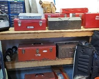 Variety of Tool Chest (old and New)