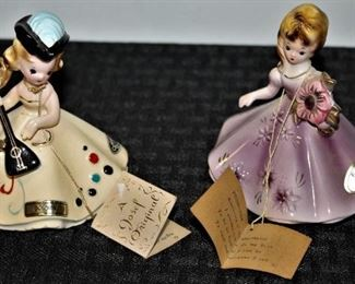 Josef Originals October, February  Doll's of the Month Series