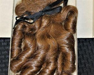 Antique Human Hair Piece