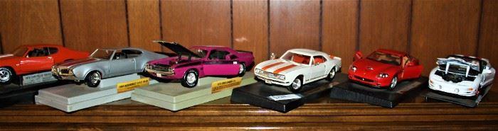 More Diecast Cars
