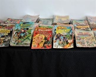 about 300 comic books remaining