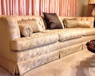 Lovely 1960's 9ft Sofa