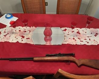 Springfield Model 187J 22 Caliber Tube Feed Rifle