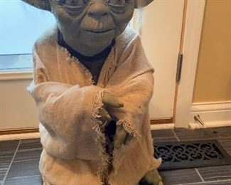 1994  Illusive Life Size  Yoda. Numbered 8479/9500