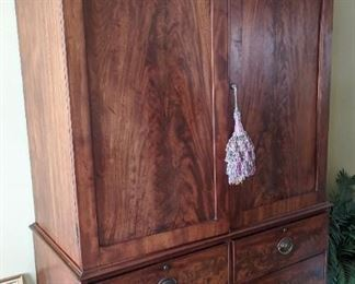 Antique English Linen Press. Was $2000, now $595