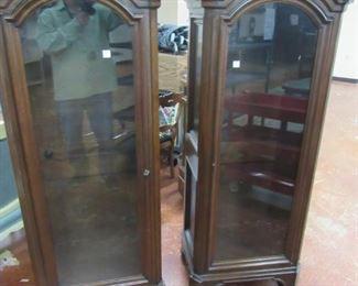 Bonnet Top Curio Cabinets