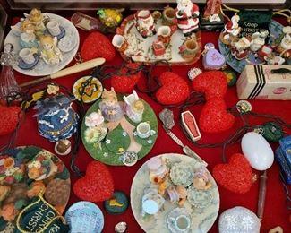 lots of mini doll dishes