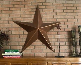 Copper Texas star