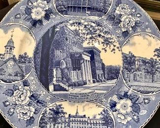 Historic Salem, NC collector plate
