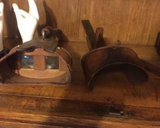 Vintage stereoscope viewfinder
