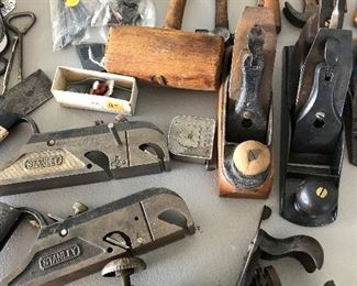 Selection of rare vintage tools