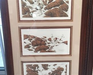 Bev Doolittle series of Hide and Seek. Signed and numbered.
