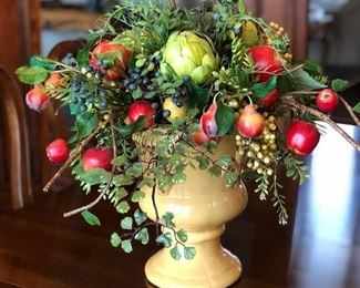 One of many gorgeous floral arrangements