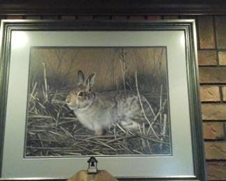 Charles Frace' framed print