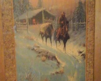 G. Harvey framed print