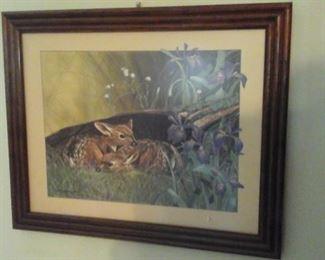 Paul J. Lopez framed print
