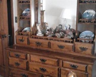 Part of queen bedroom suite