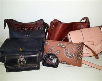 Designer purses: Coach, A.N.D E A W Y, Michael Kors, Brighton, Maxwell Scott...