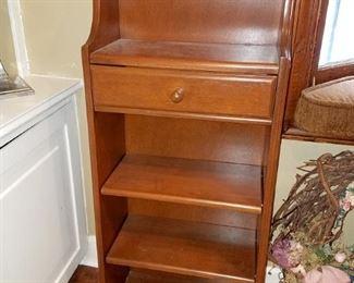 Small bookcase $45