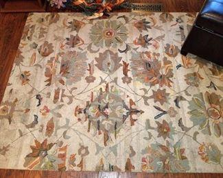 Floor rug.