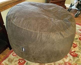 As seen on Sharktank...the CordaRoy's bean bag chair/queen bed!!! It unzippers to bear a queen bed mattress!