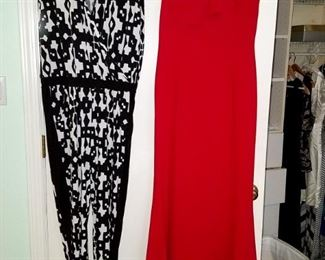 Gorgeous women's clothing. Red dress on right still has tags!