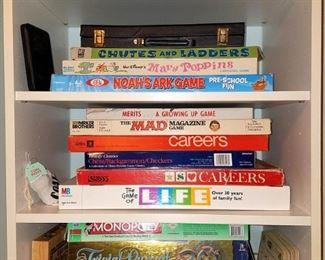 Games, some vintage