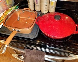 Copper cookware, Iron cookware