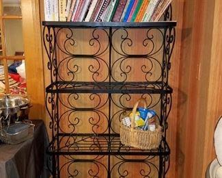 Metal baker's rack $75