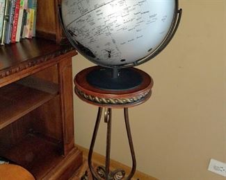 Globe on stand (separate)