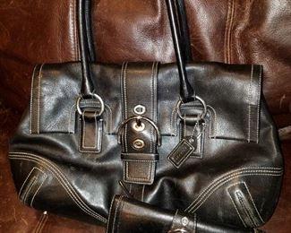 Coach purse/wallet set