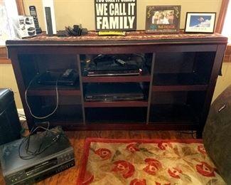 TV console/bookcase $40