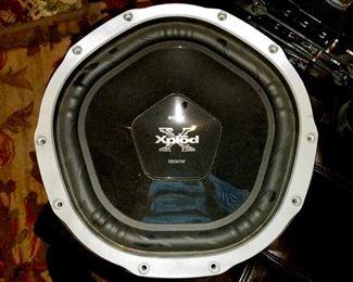 Pair of Sony Xplod Speaker Series 12 1000 Watt