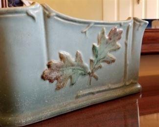 Weller Pottery Oak in Blue