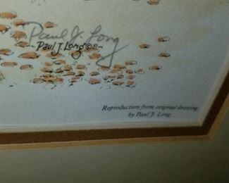 Paul Long signature