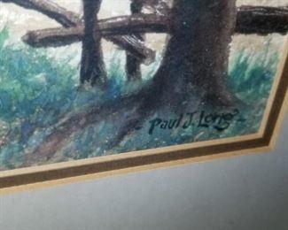 Paul Long print