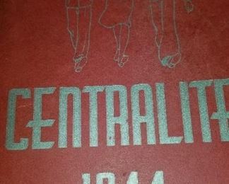Central High 1944 yearbook
