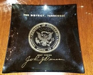 John J. Duncan ashtray