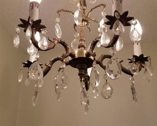 Smallest of three Chandeliers