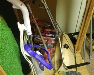 Pressure washer, more garden tools