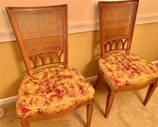 Henredon custom upholstered chairs