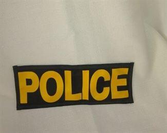 Velcro police badge