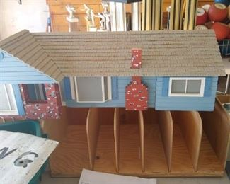 Mid century model house